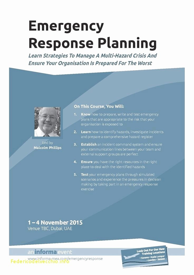 Emergency Operations Plan Template Best Of Emergency Operations Plan Template Simple Awesome