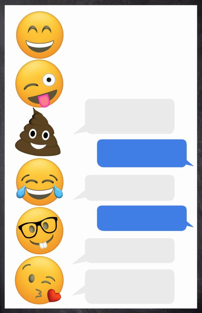 Emoji Birthday Invitation Template Elegant Emoji Birthday Invitations Free Printable Template Paper
