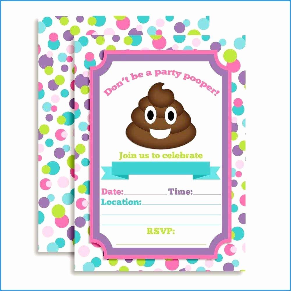 Emoji Birthday Invitation Template Lovely 99 Emoji Birthday Invitation Templates Free Printable
