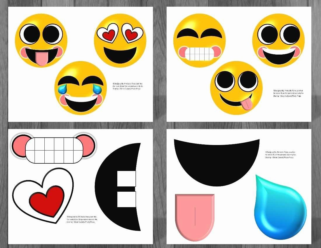 Emoji Invitation Template Free New Free Printable Emoji Invitation Template Awesome Colorful