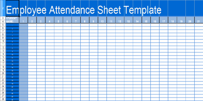 Employee attendance Record Template Lovely 36 General attendance Sheet Templates In Excel Thogati