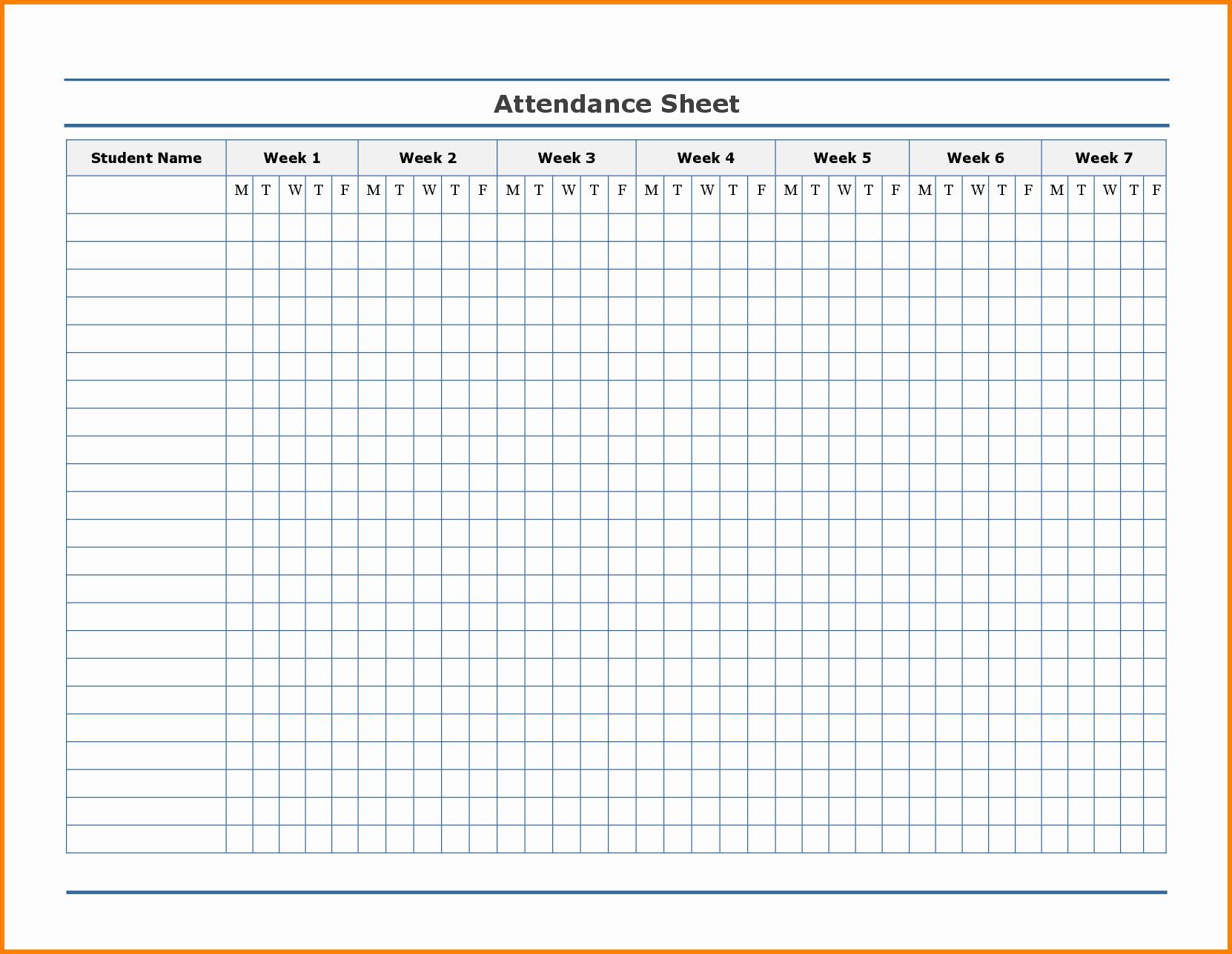 Employee attendance Record Template New Free Employee attendance Calendar