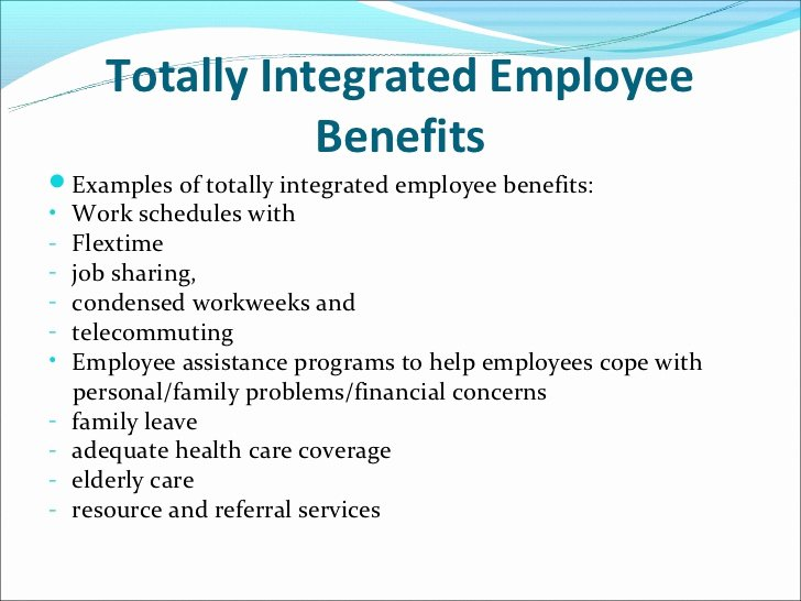 Employee Benefits Package Template Beautiful totally Integrated Employee Benefits