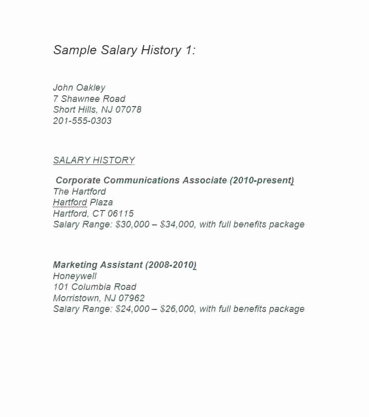 Employee Benefits Summary Template Awesome A Employee Benefits Package Template Luxury Salary