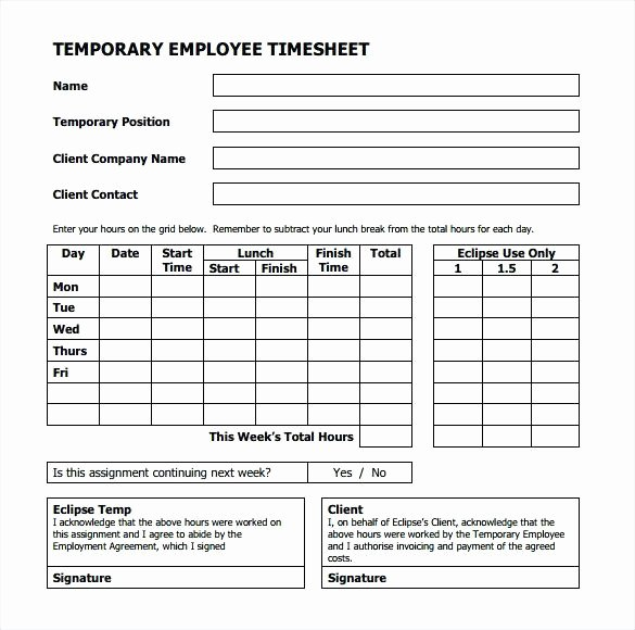 Employee Break Schedule Template Beautiful Weekly Employee Template Lunch Break Schedule – Chaseevents