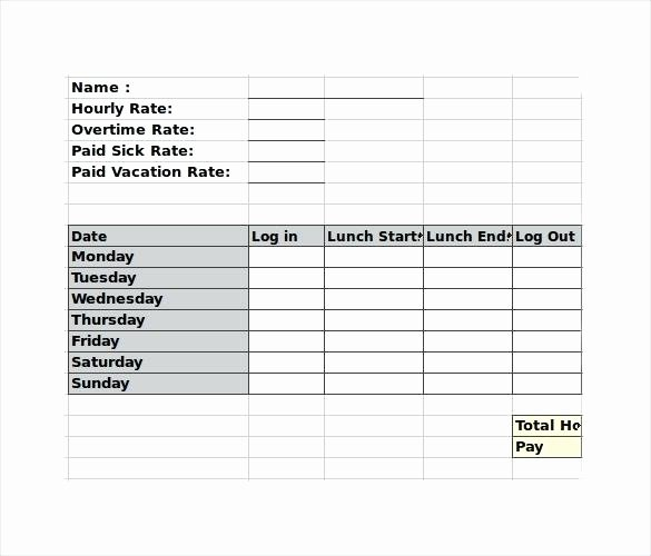 Employee Break Schedule Template Best Of Weekly Employee Template Lunch Break Schedule – Chaseevents