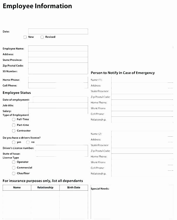 Employee Change form Template Luxury Payroll Change form Template