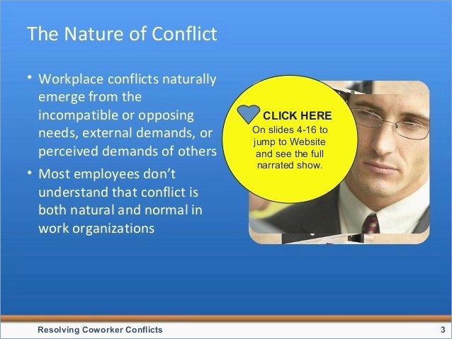 conflict resolution powerpoint presentation