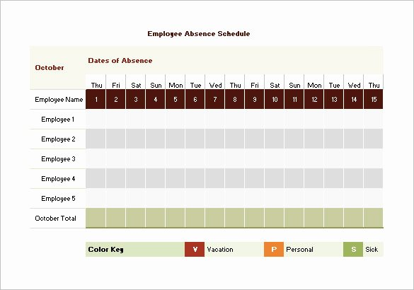 Employee Holiday Schedule Template Beautiful 9 Vacation Schedule Templates Doc Excel Pdf