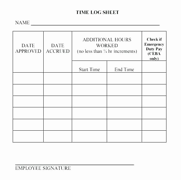Employee Performance Log Template New Daily Activity Log Sheet Template Employee Performance