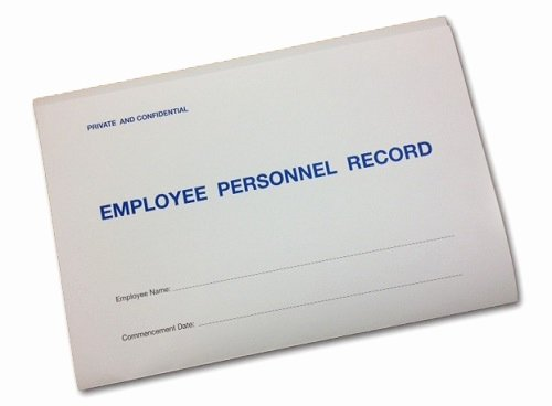 Employee Personnel File Template Awesome Employee Personnel Record Folder Including Templates