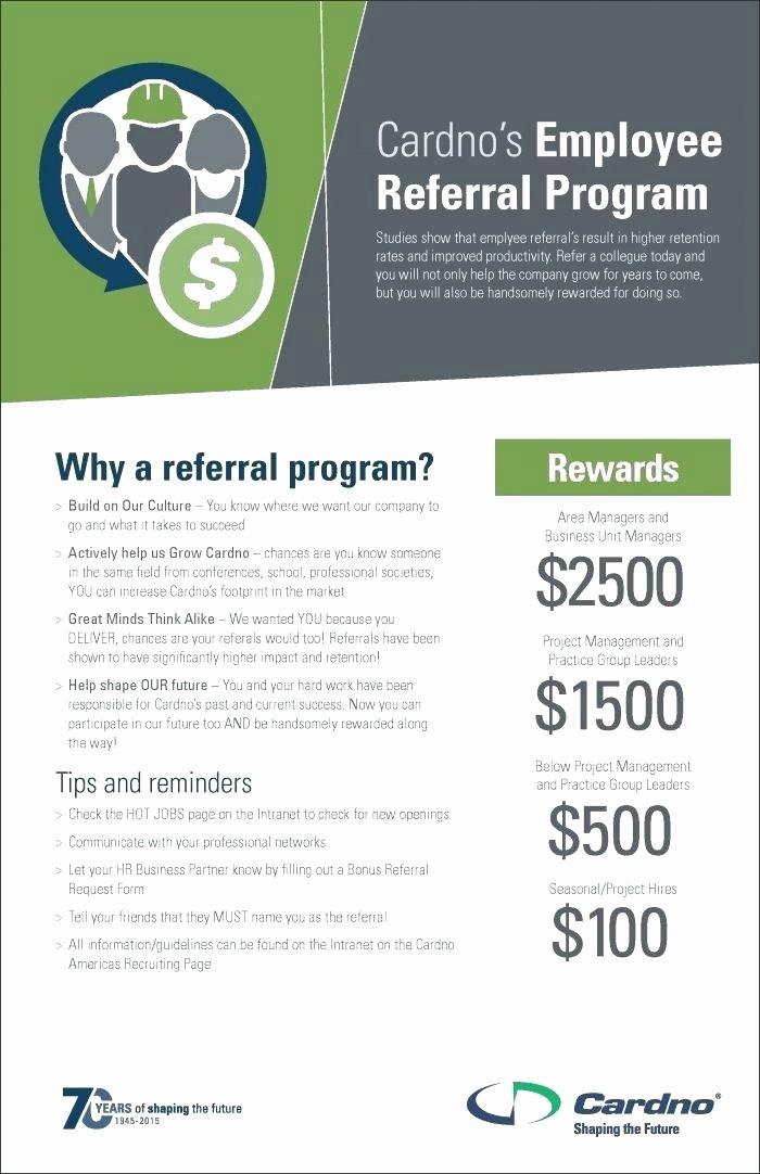 Employee Referral Program Template Beautiful Referral Program Template Employee Referral Program