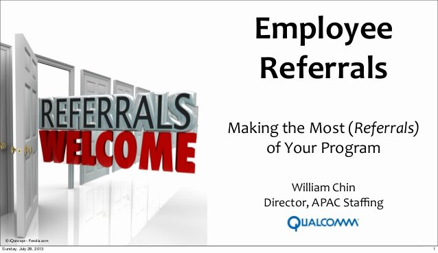 Employee Referral Program Template Fresh Employee Referral Innovative Approaches without Referral