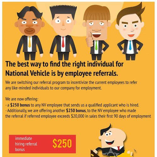 Employee Referral Program Template Inspirational Employee Referral Program Flyer
