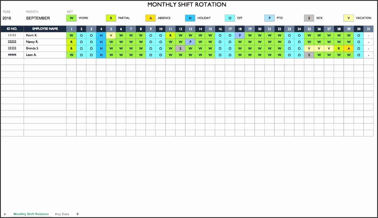 Employee Work Plan Template Fresh New Weekly Employee Work Schedule Template Excel