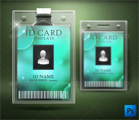 Employees Id Card Template Awesome Id Card Template 19 Download In Psd Pdf Word