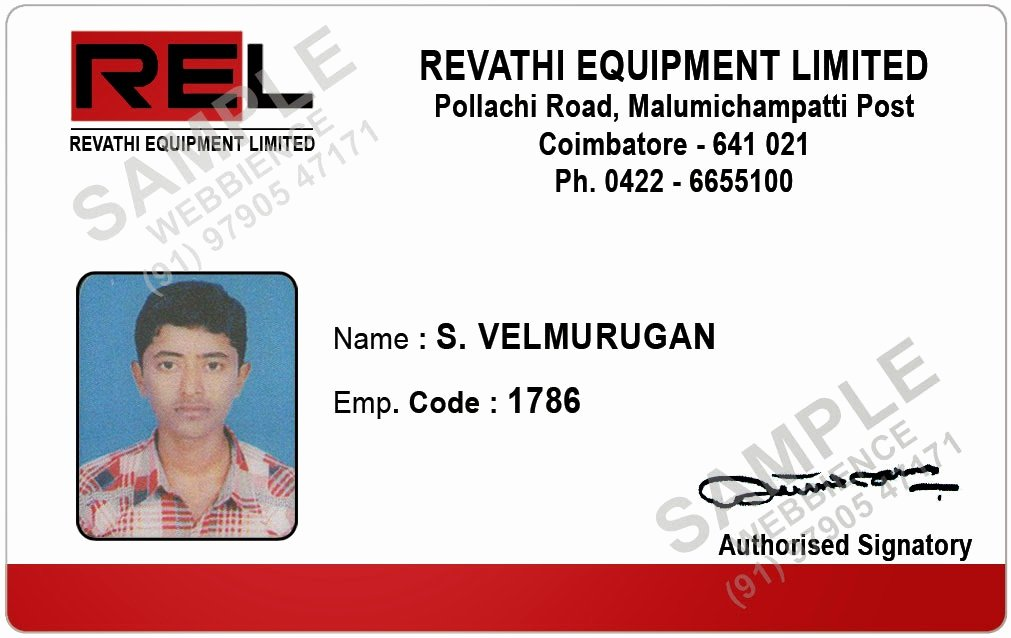 Employees Id Card Template Lovely Webbience Employee Id Card Templates