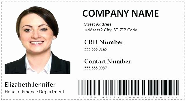 Employees Id Card Template New Employee Id Card Template Badge Shop – Eyoncefo