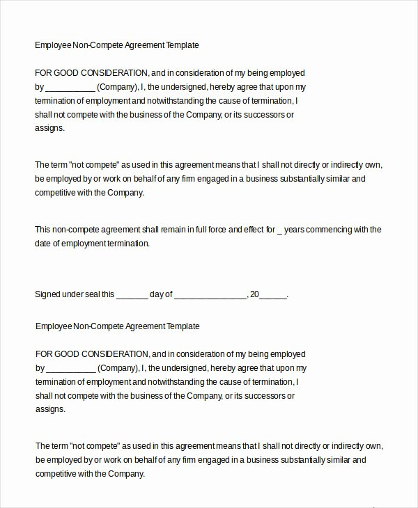 Employment Agreement Template Word Awesome Employment Agreement Template 22 Free Word Pdf format