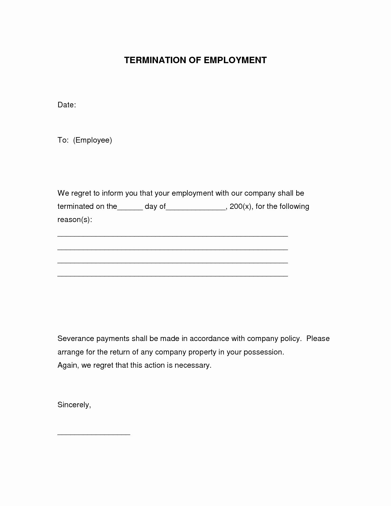 Employment Separation form Template Awesome Employee Separation form Template Portablegasgrillweber