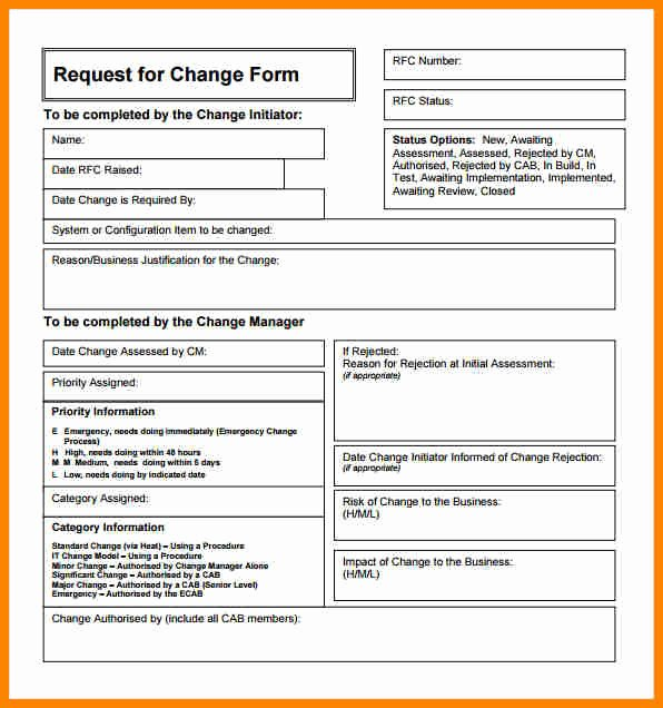 Engineering Change order Template Luxury Engineering Change order Template