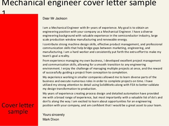 Engineering Covering Letter Template Inspirational Best Letter Samples Mechanical Engineer Cover Letters