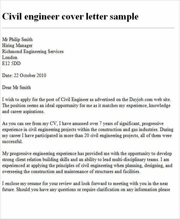 Engineering Covering Letter Template Lovely 25 Best Engineering Resume Templates Pdf Doc