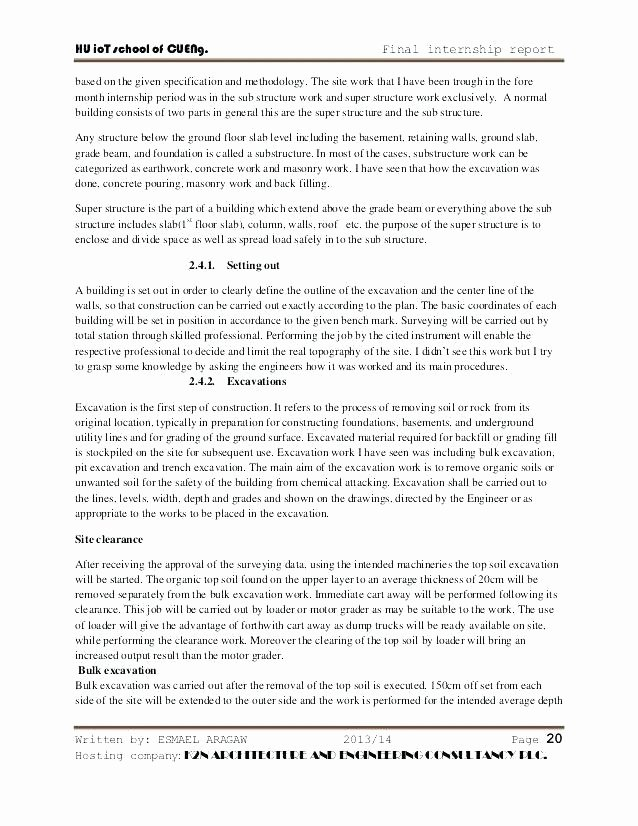 Engineering Technical Report Template Best Of Engineering Technical Report Template