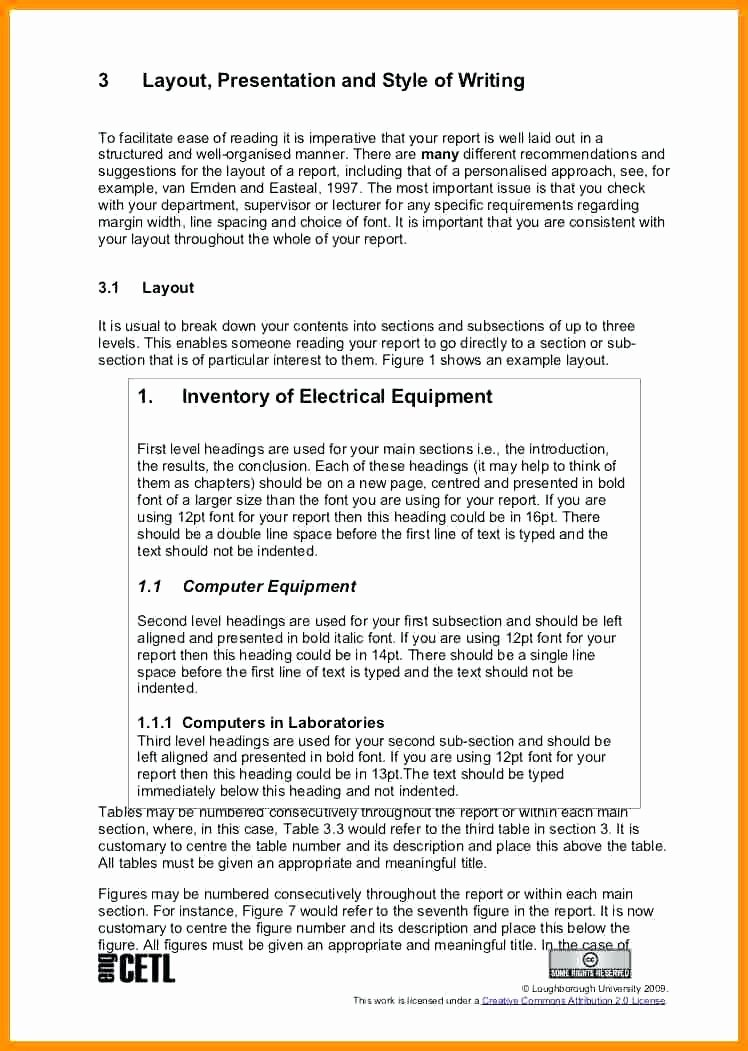 Engineering Technical Report Template Luxury Technical Report Writing Engineering Template Word 3