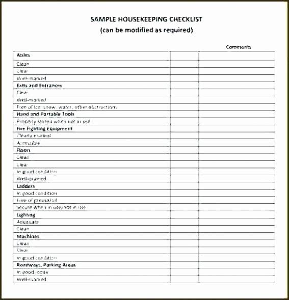 Equipment Inspection Checklist Template Lovely Equipment Checklist Template Rental Vehicle Inspection