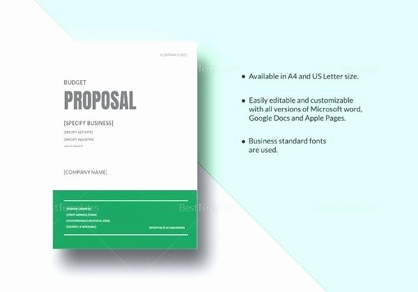 Estimate Template Google Docs Beautiful Bid Proposal Template Google Docs