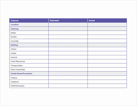 Event Marketing Plan Template Lovely 10 Sample Marketing Timeline Templates to Download