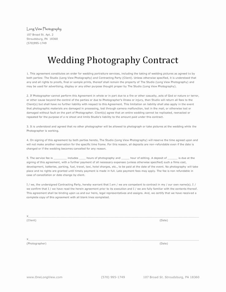 Event Photography Contract Template Inspirational 25 Best Graphy Contract Ideas On Pinterest