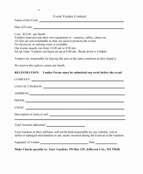 Event Planner Contract Template Lovely event Contract Sample – Administrativelawjudgefo