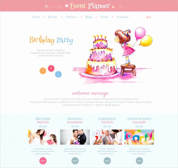 Event Planner Website Template Fresh 21 event Bootstrap themes & Templates