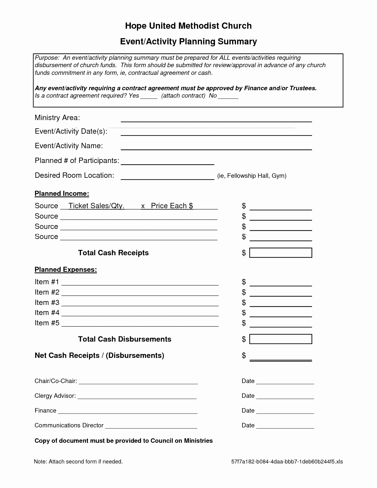 Event Planning Contract Template Best Of 7 Best Of event Planning forms Free Printable