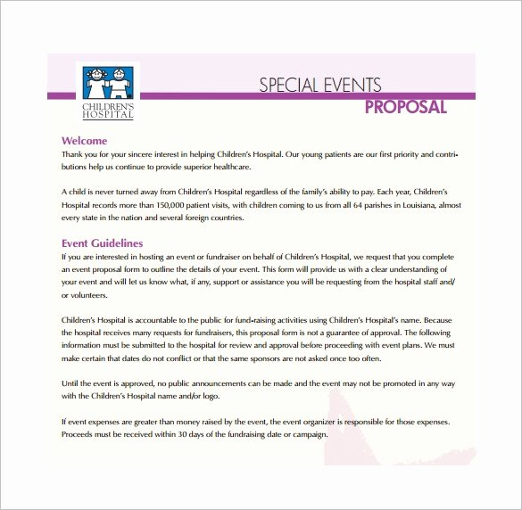 Event Planning Proposal Template Awesome event Proposal Template 21 Free Word Pdf format
