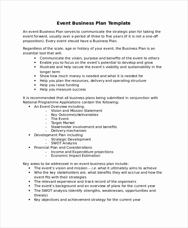 Event Planning Proposal Template Beautiful 14 Sample events