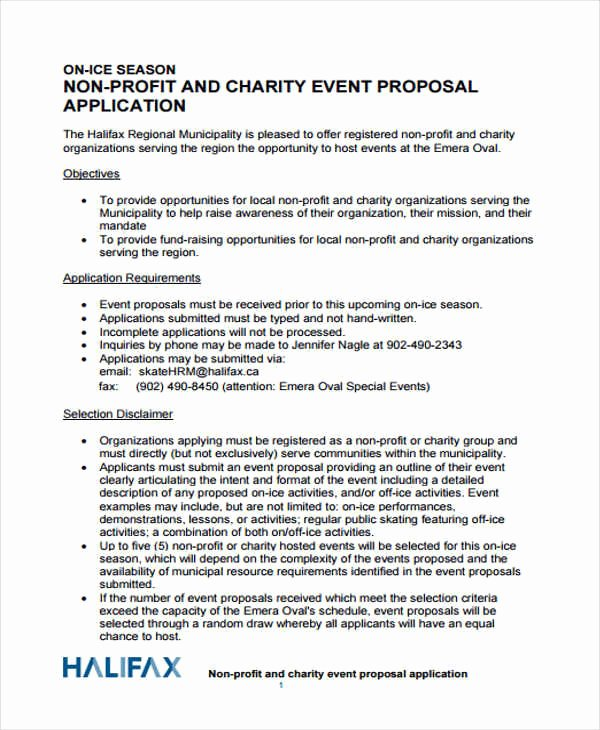 Event Planning Proposal Template Lovely 43 event Proposals In Pdf
