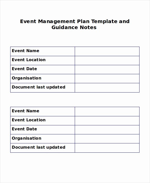 Event Planning Proposal Template Lovely event Outline Template 7 Free Word Pdf Document