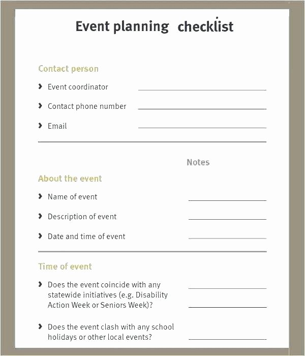 Event Planning Questionnaire Template Best Of event Planning Template event Emergency Management Plan