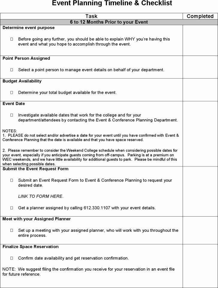 Event Planning Template Pdf Awesome 3 event Timeline Templates Free Download