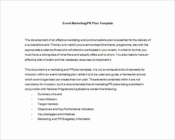 Event Planning Template Pdf New event Planning Template 9 Free Word Pdf Documents
