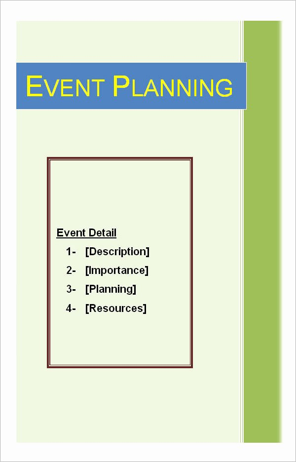 Event Planning Template Word Beautiful event Planning Template 11 Free Documents In Word Pdf Ppt