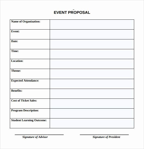 Event Planning Template Word Fresh Sample event Proposal Template 15 Free Documents In Pdf