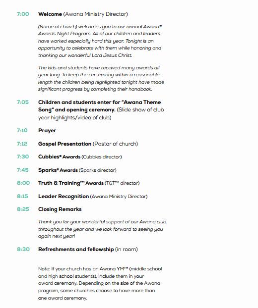 Event Program Template Word Elegant 4 Awards event Program Templates Free Sample Templates