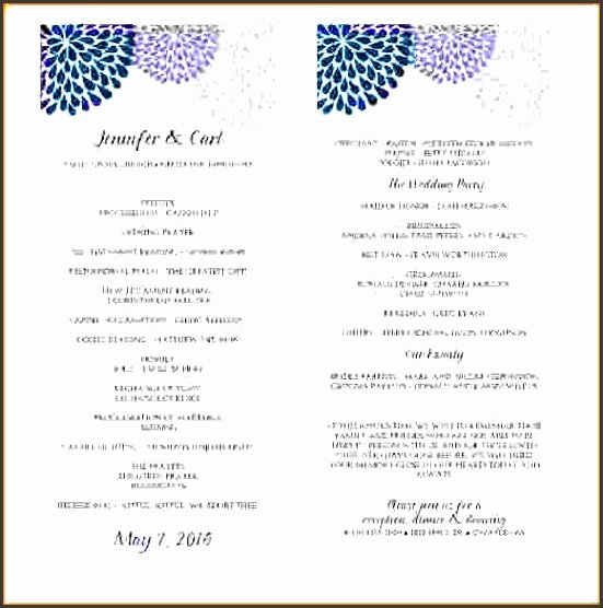 Event Program Template Word Inspirational 10 Ms Word event Program Template Sampletemplatess