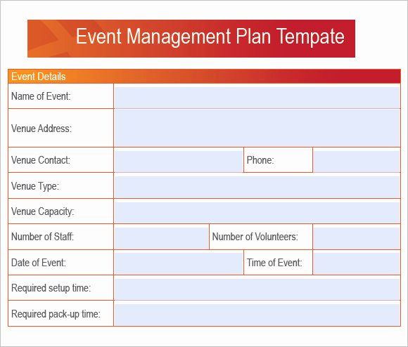 Event Project Plan Template Best Of 7 event Planning Samples
