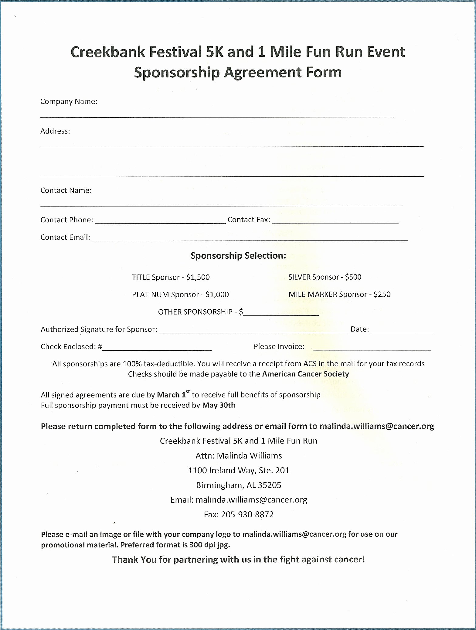 Event Sponsorship Agreement Template Lovely event Sponsorship Agreement Template