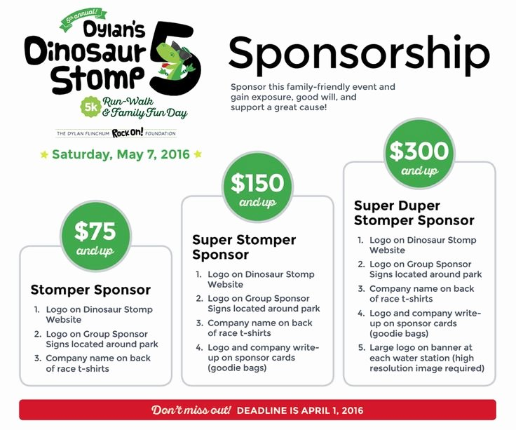 Event Sponsorship form Template Fresh Tiered Sponsorship forms Google Search